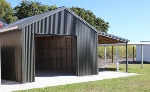 Quin Buildings Custom Design Single Garage