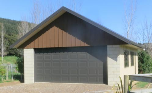 Custom Designed Double Garage
