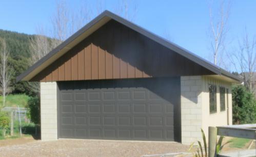 Quin Buildings Custom Designed Double Garage